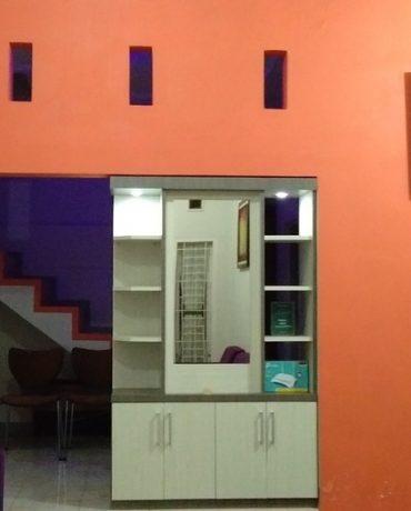 ruang tamu jingga homestay